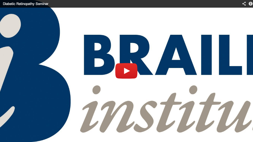 Video Thumbnail. Activating this link will launch a YouTube video that is not accessible for blind users. To view this video in an accessible format, please visit the Braille Institute YouTube channel.