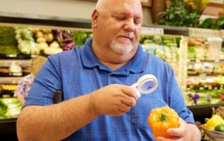 John Phillips in the grocery store