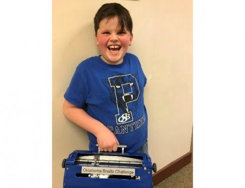 Claremore Second-Grader Wins Braille Challenge at Oklahoma School for the Blind