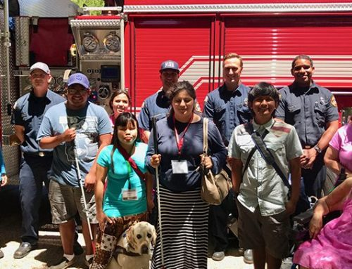 EmergenSee Class Helping Prepare Visually Impaired