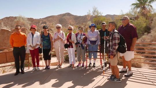Tannito Napalan, Bonita Ray, Cheryl Cervantes, Barbara Foyil, Barbara Coulter, Debbie Kober, Patricia Westcott, Steven Etick, John Phillips, and Rick Okoshi (Photo: Berrylynn Freeby/Special to The Desert Sun)