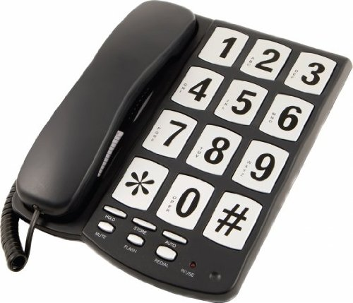 Image of a phone with big number keys