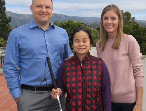 Inspiring Instructor Speaks at Braille Institute Auxiliary of Santa Barbara Meeting
