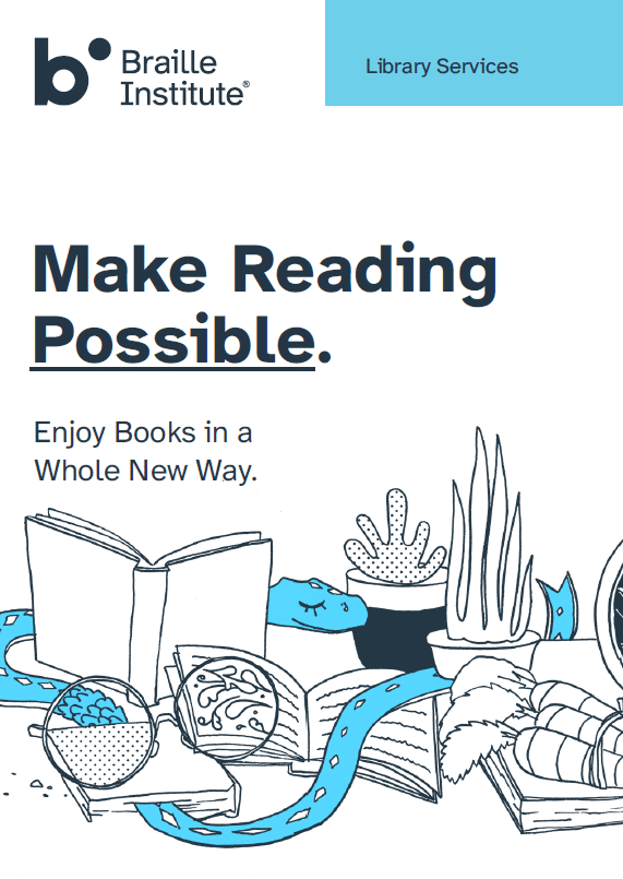 Library Services brochure cover thumbnail