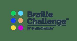 The Braille Challenge Logo graphic