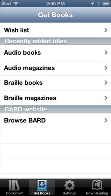 Screenshot of Bard app