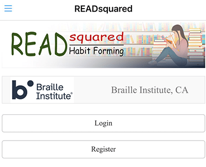Image of the Readsquared BIA App
