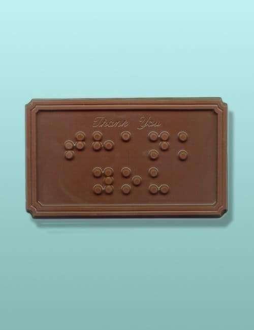 Brailled Chocolate Bar